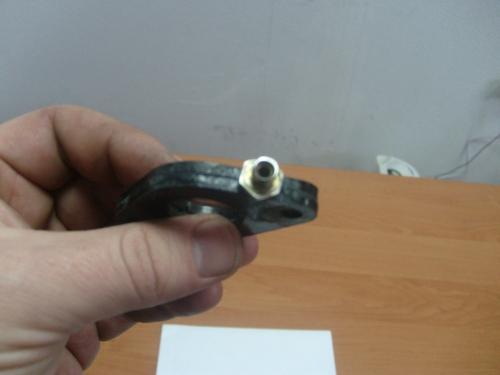 -фото опытного образца вихревого смесителя топливной смеси для ДВС любой мототехники мопедов и мото